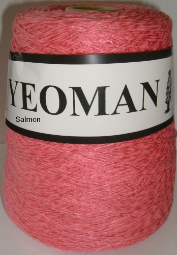 Yeoman Panama Yarn - Salmon - DISC
